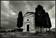 Capella di Vitaleta ___ die andere Seite