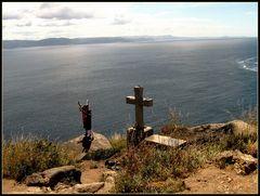 Capo Finisterre..la fine del cammino di Santiago