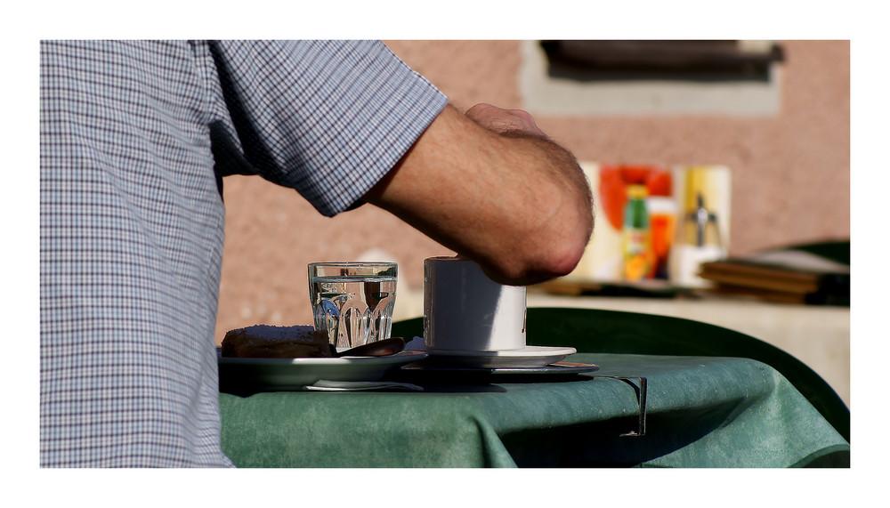 Cappuccino e briosh