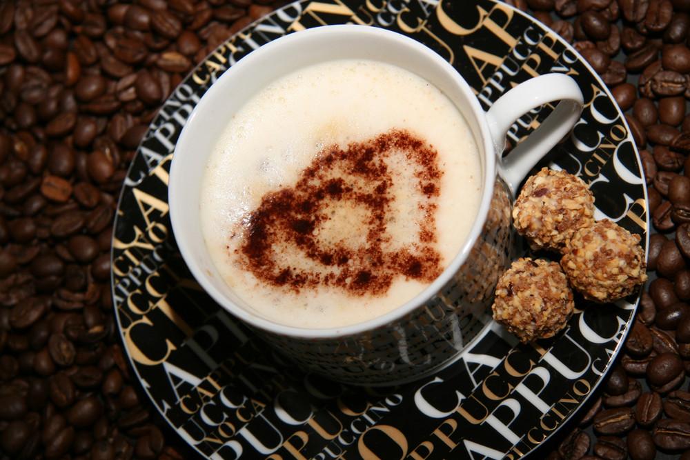 Cappuccino in love