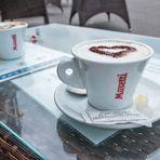 Cappuccino-Pause in Portovenere