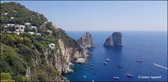 Capri Faraglione Felsen