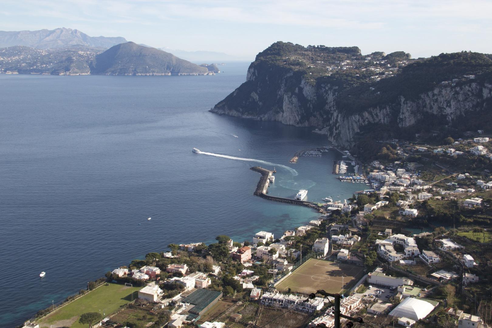 Capri from AnaCapri 2010