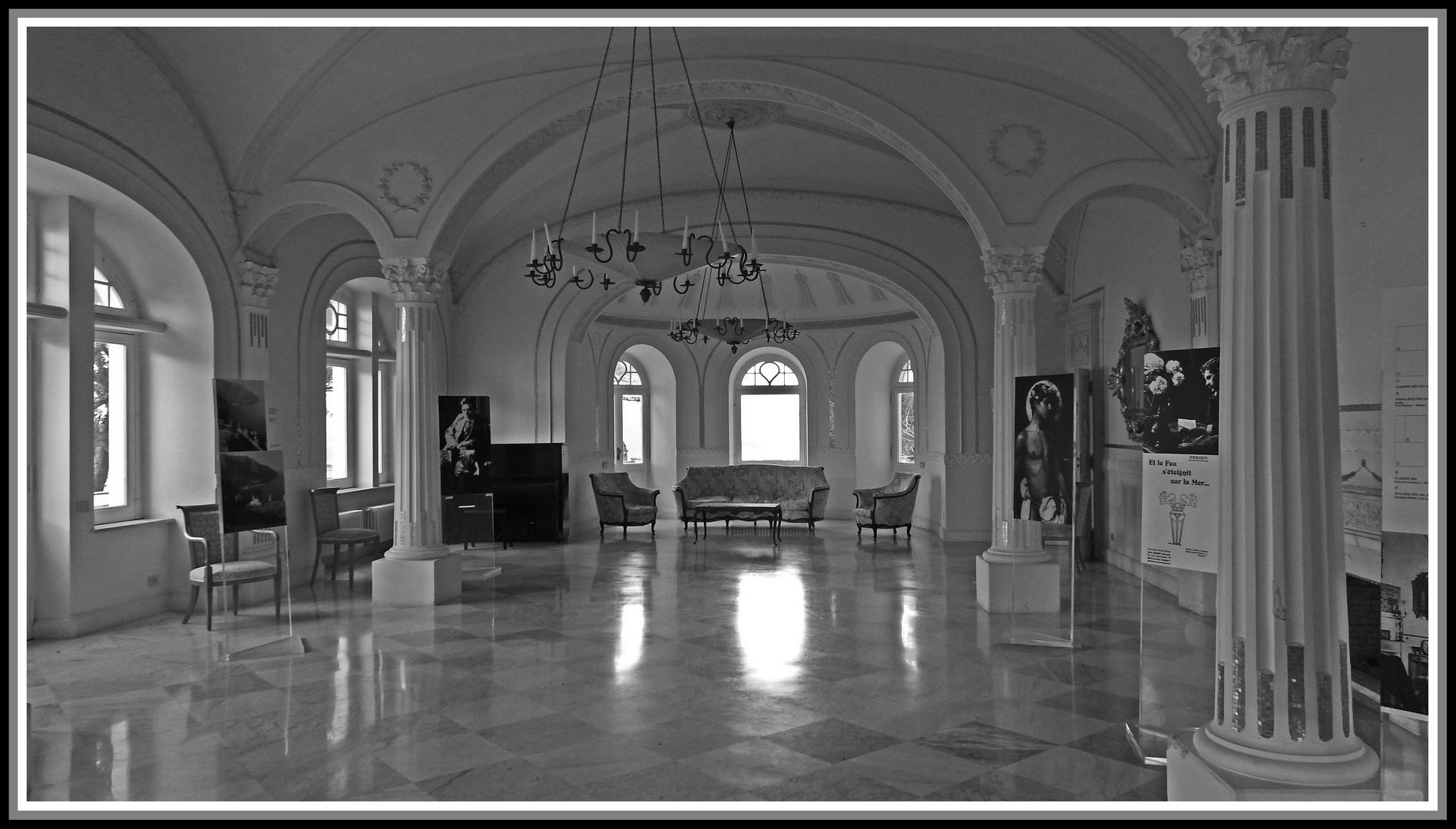 CAPRI - Villa Lysis - Il Salone delle feste - 1905
