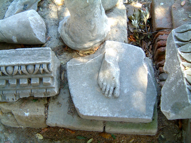 Capua, the Amphiteatre of Spartacus