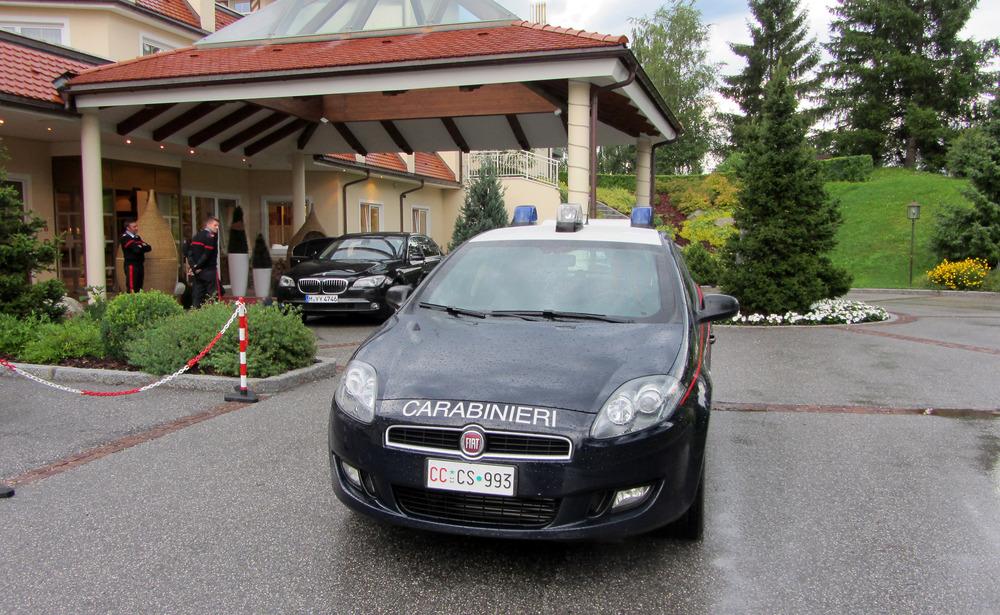Carabinieri in Bruneck
