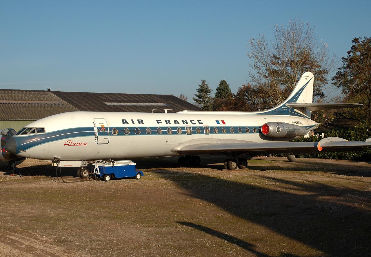 Caravelle der Air France c/n 1 F-BHRA
