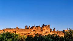 Carcassonne Zeit (Frankreich)