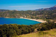 Cargése Plage du Pero, Korsika