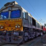 Cargo Rail Diesel Lok, Baureihe 247
