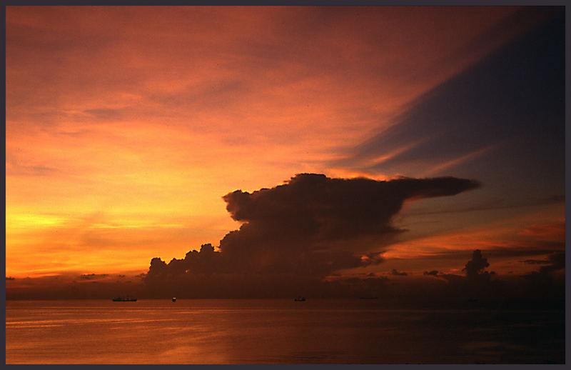 Caribbean sunrise II