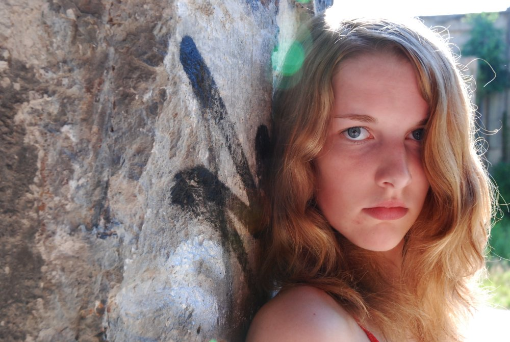 Carmen an der Mauer