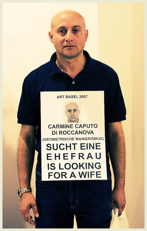 Carmine Caputo auf der Art Basel 38 (2007)