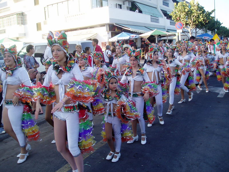 Carnaval-comparsa Infantil Tropicana de Candelaria 2007