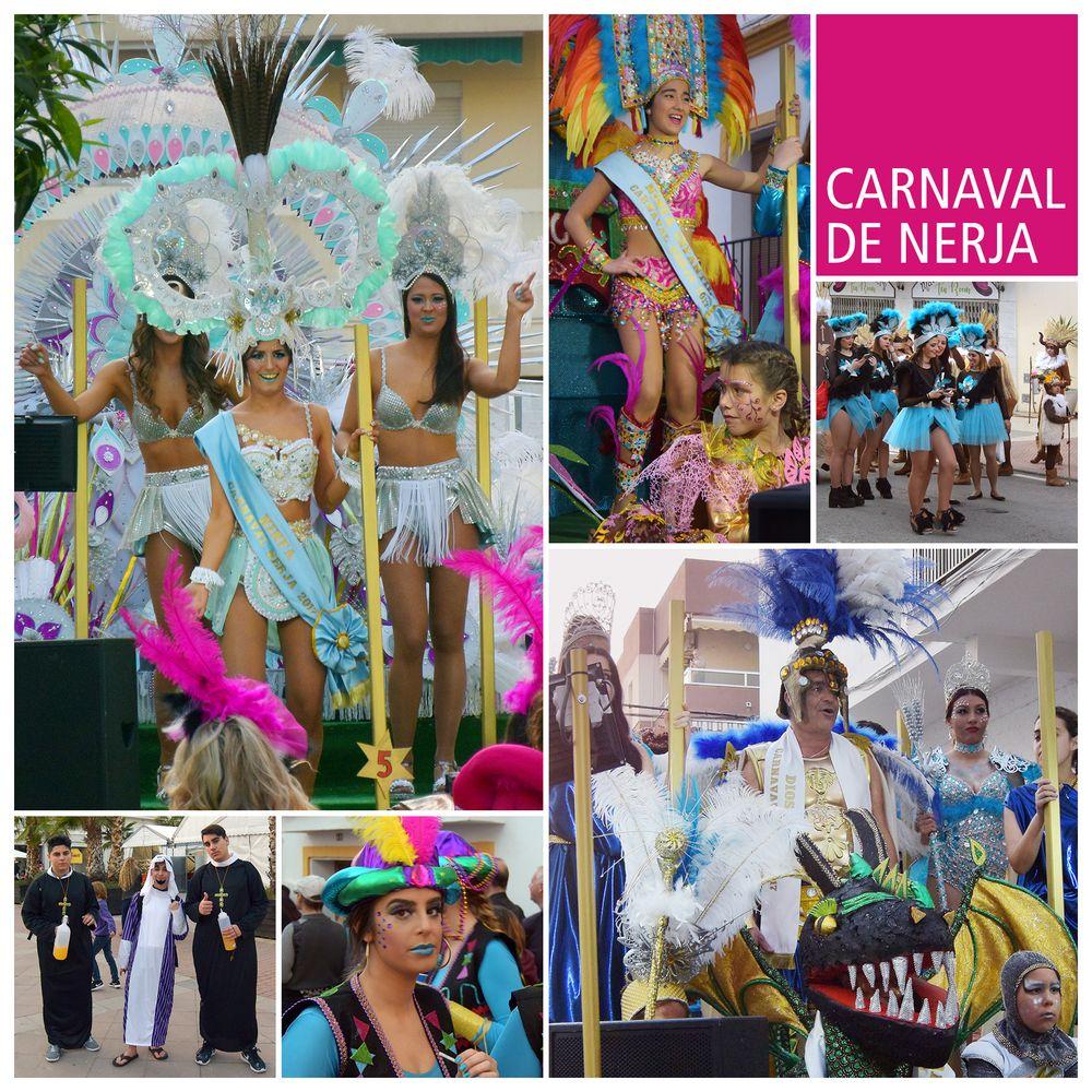 Carnaval con Dios Momo y Ninfa