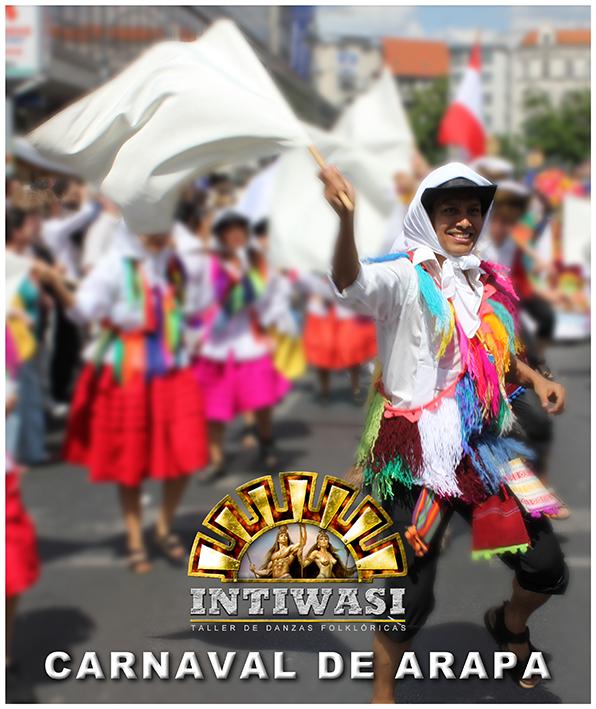 Carnaval de Arapa in Berlin / Gruppe Intiwasi