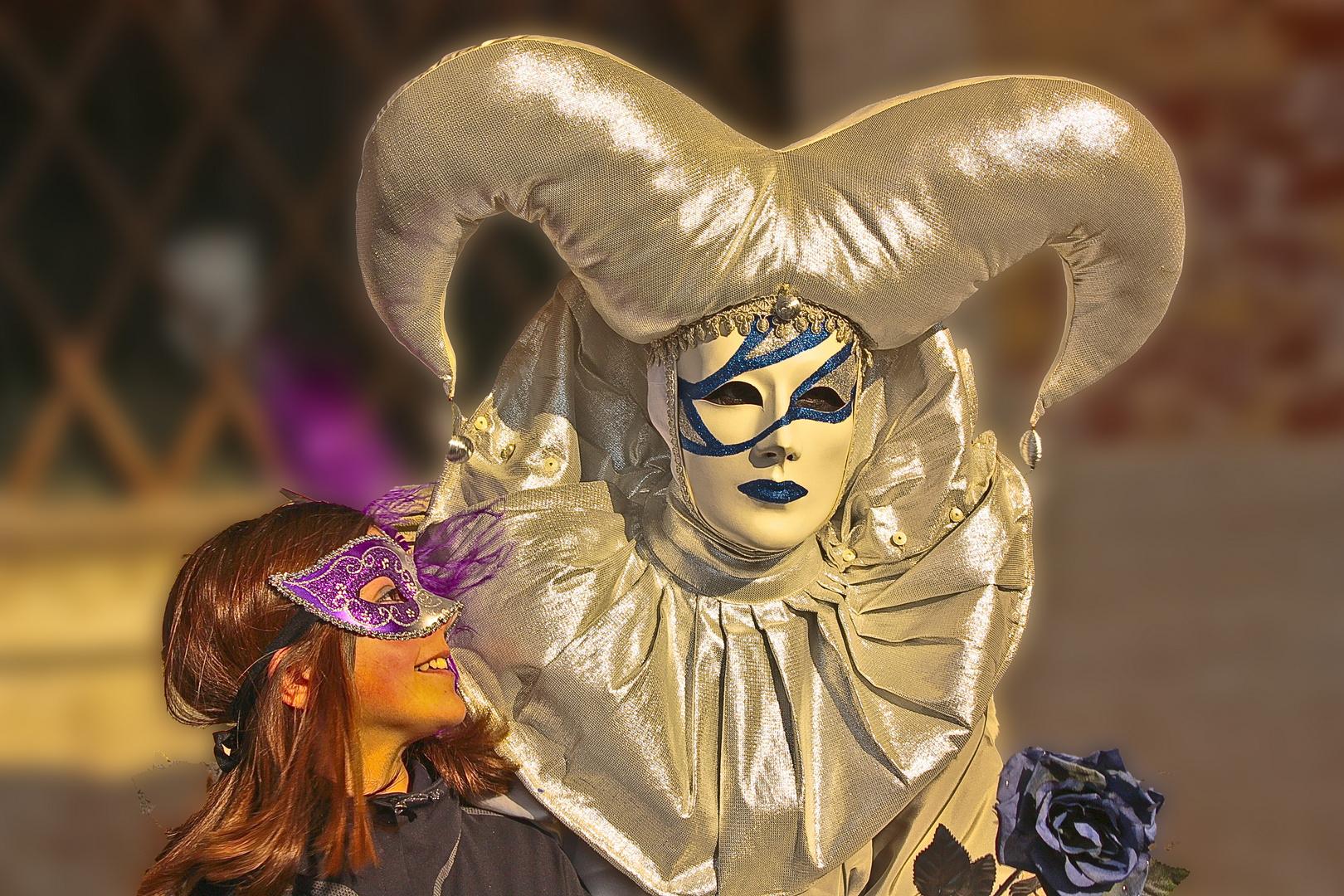 Carnevale di Venezia Harlekin