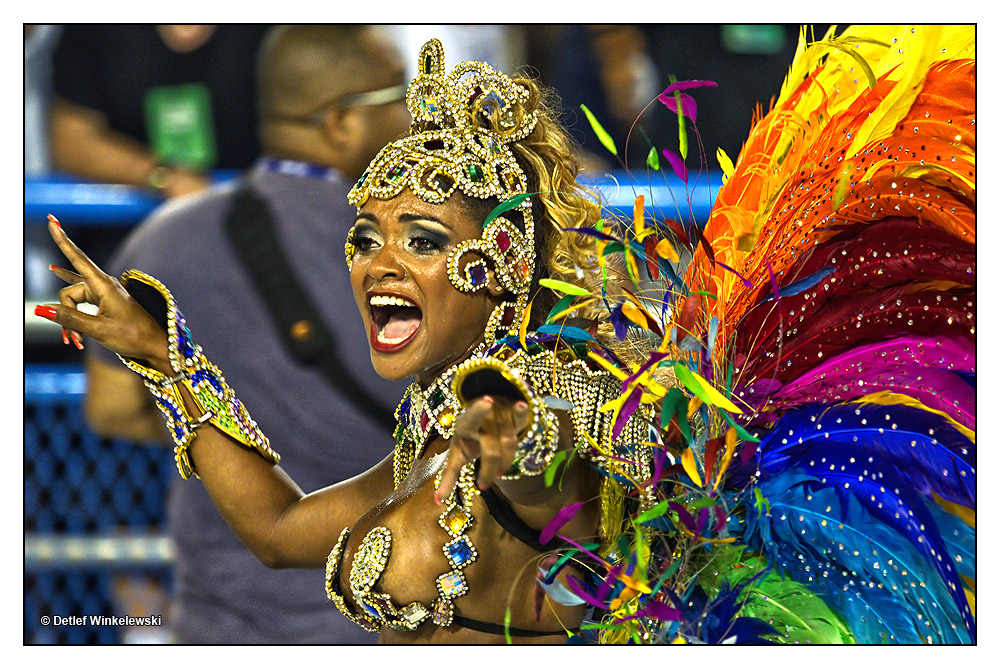 Carnival in Rio de Janeiro 2013 - Sambodromo [I]