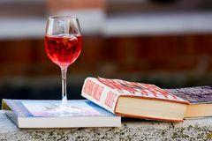 carpe diem - mit Wein und Buch