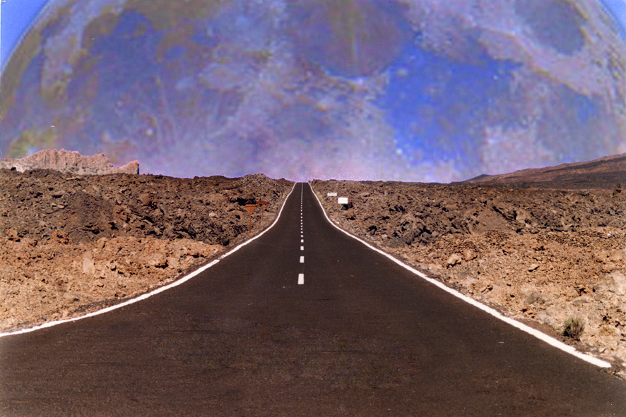 carretera a la luna