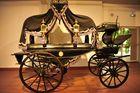 Carro fúnebre de principios del siglo XX