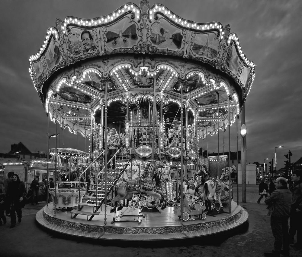 Carrousel in Tours