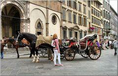 Carrozza a Firenze