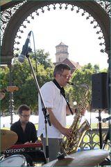 Carsten NETZ spielt 2012 JAZZ Stuttgart OPENAir