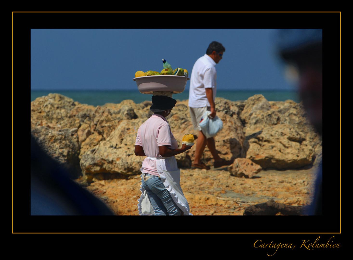 Cartagena - beach service