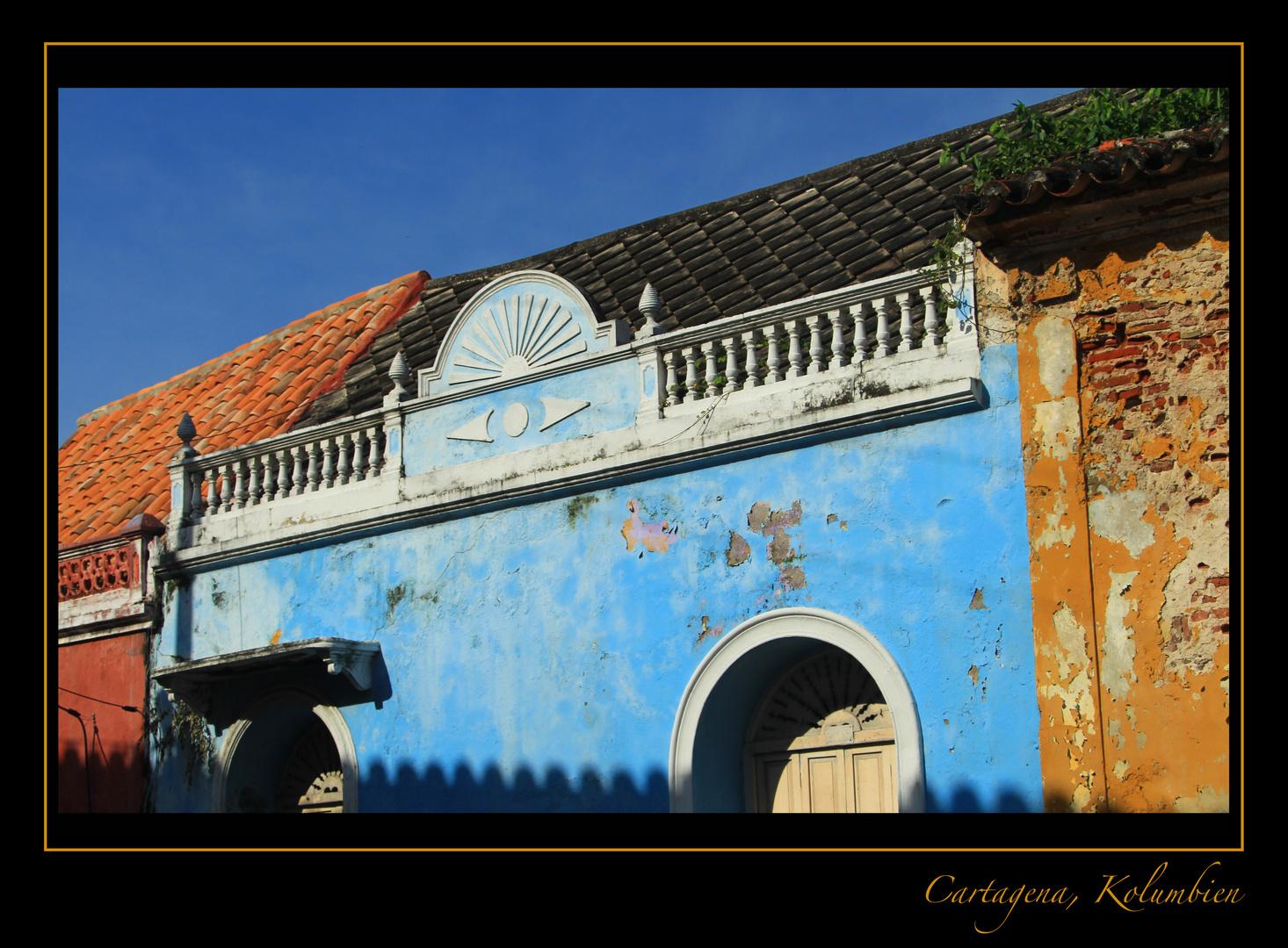 Cartagena in Farbe