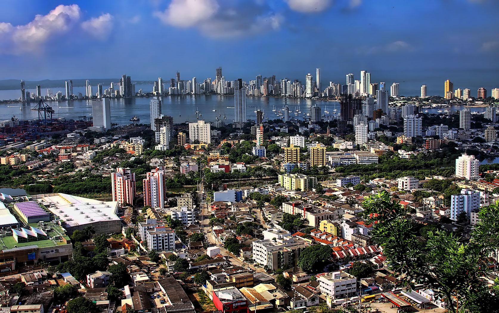 Cartagena, Stadtansicht