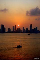 Cartagena vom Aida-Schiff aus