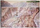 Carte des Alpes de haute Provence
