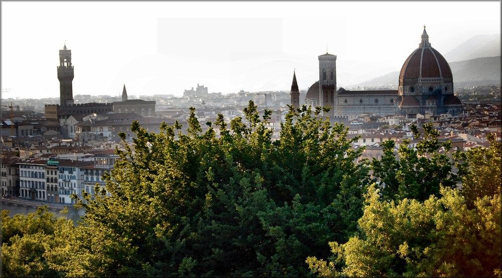 Cartolina di Firenze