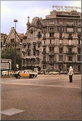 Casa Batlló e Casa Amatller. Barcelona 1970