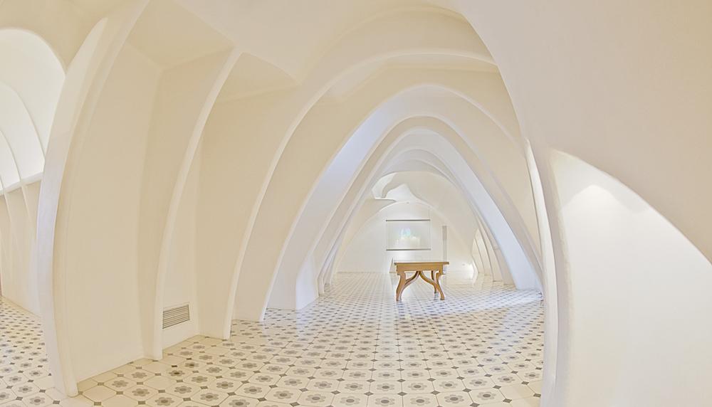 Casa Battló - der Dachboden