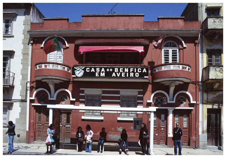 Casa do Benfica...