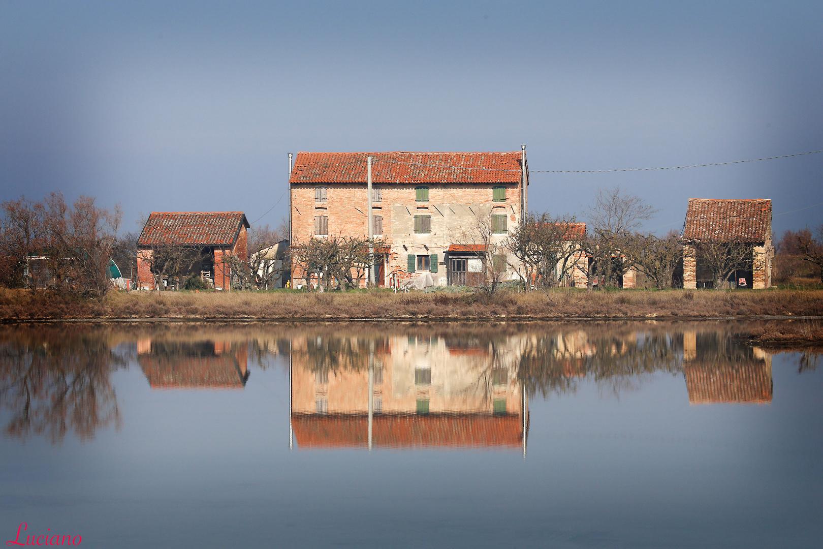 casa in laguna