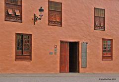 Casa Quinta Roja am Marktplatz in Garachico  - heute Hotel