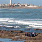 Casablanca - Atlantic Ocean near Mosque Hassan II - 2