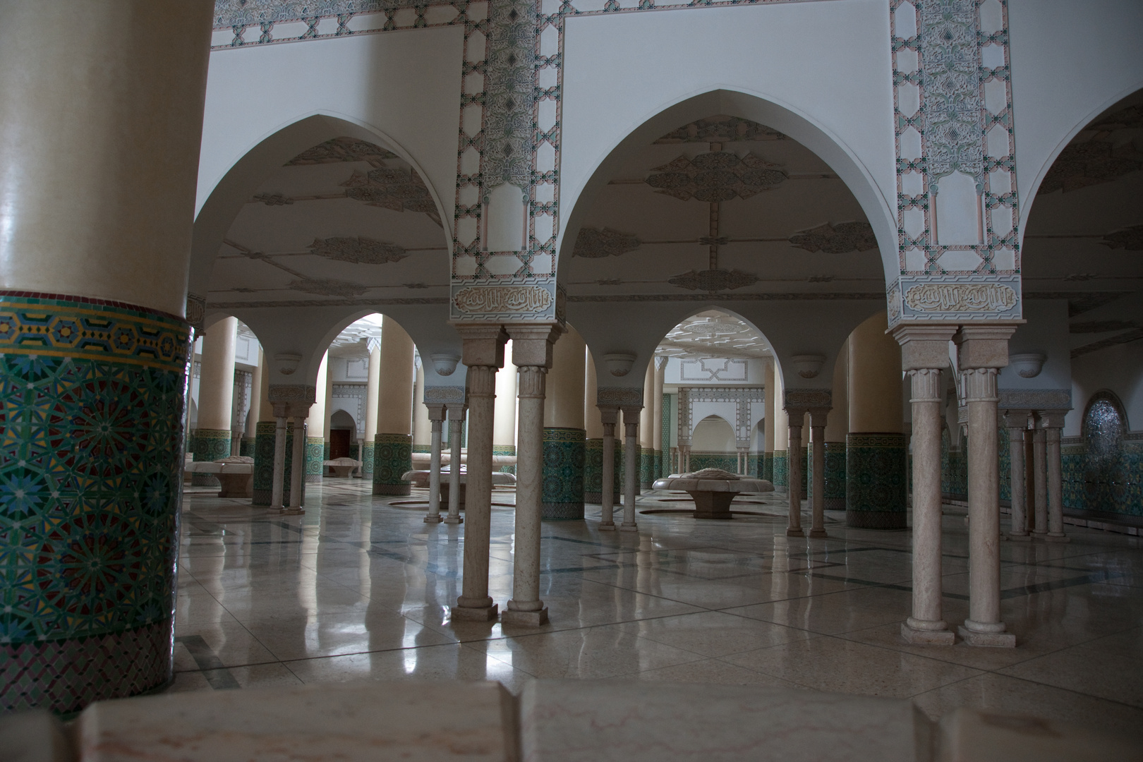 Casablanca Moskee Hassan II  Waschraum