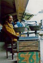 Casablanca - venditore al mercato