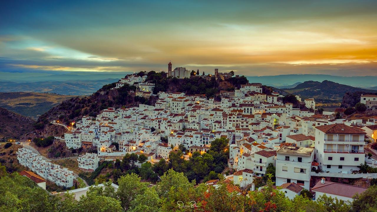 Casares Andalusien Spanien