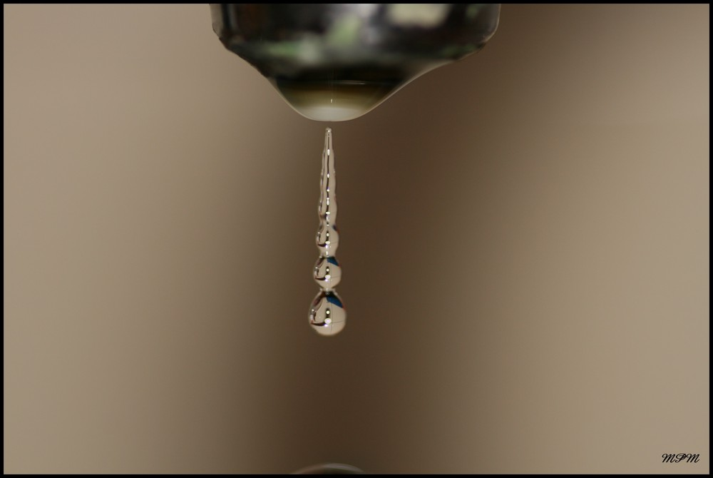 Cascade de robinet