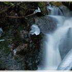 Cascade en hiver