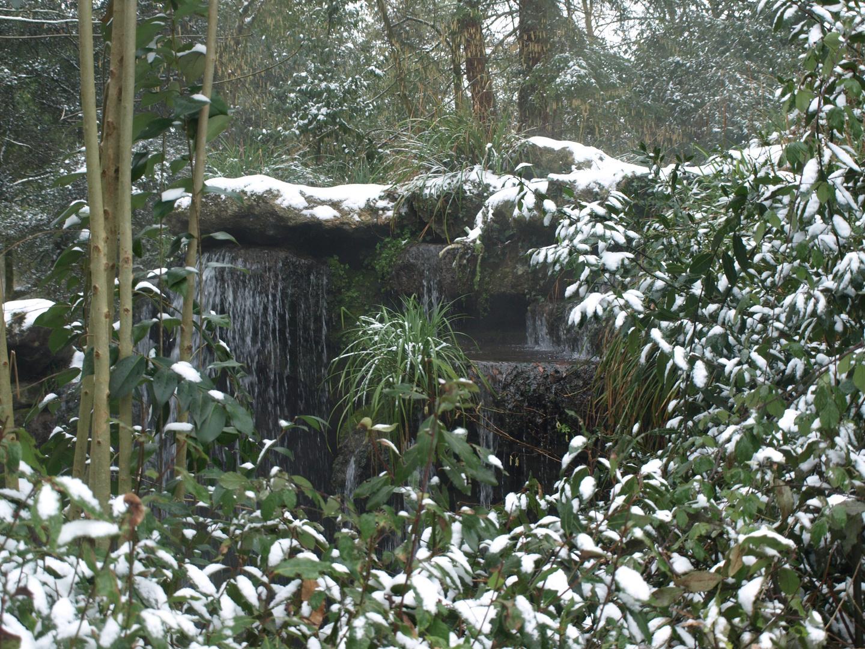 cascade hivernale
