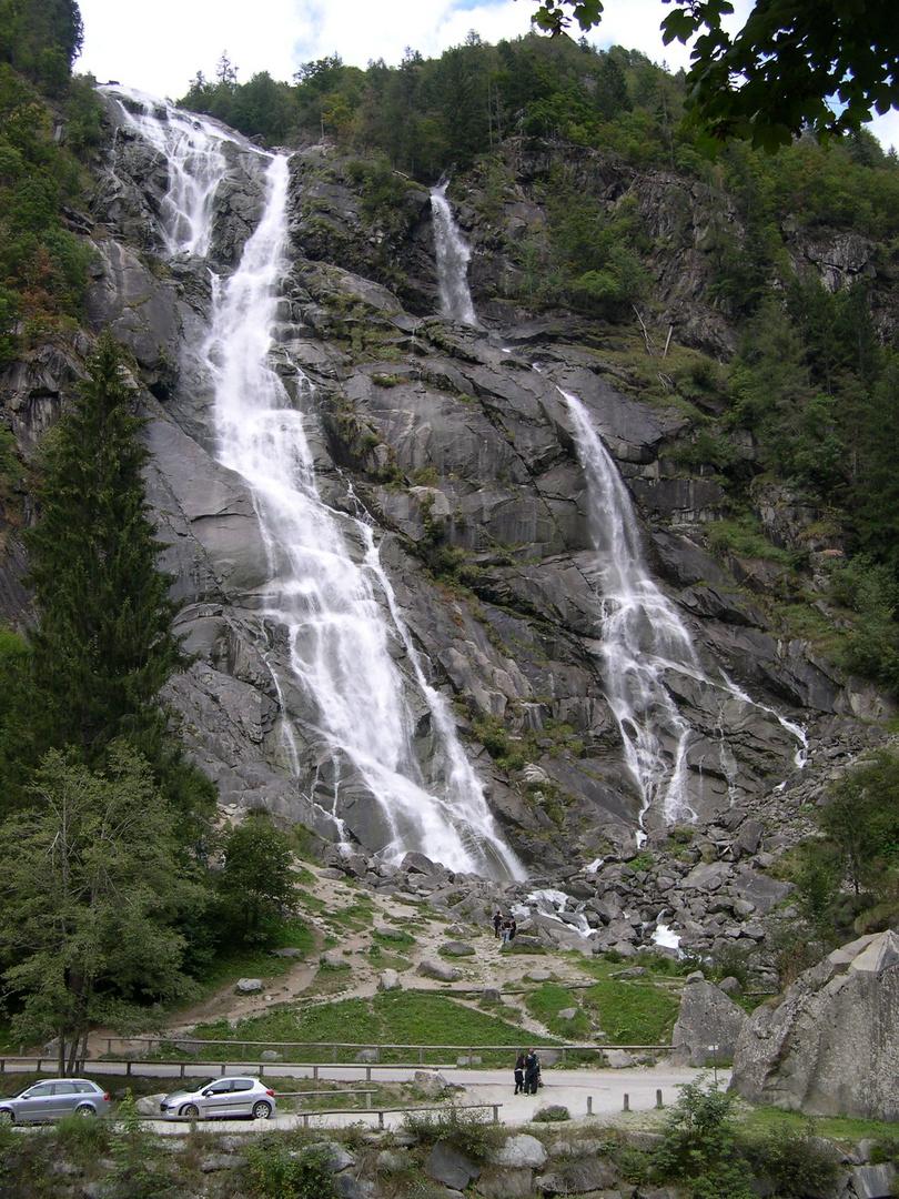 Cascate Nardis Trentino