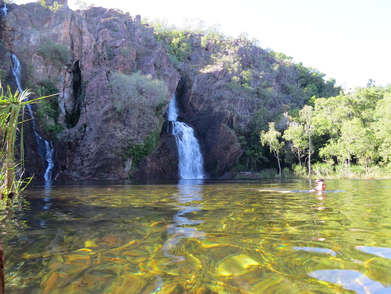 Cascate nel parco nazionale di kakadu
