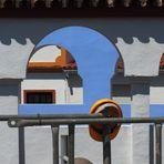 casco y arcos