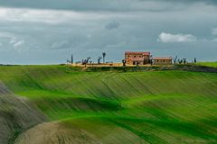 Case in val d'Orcia
